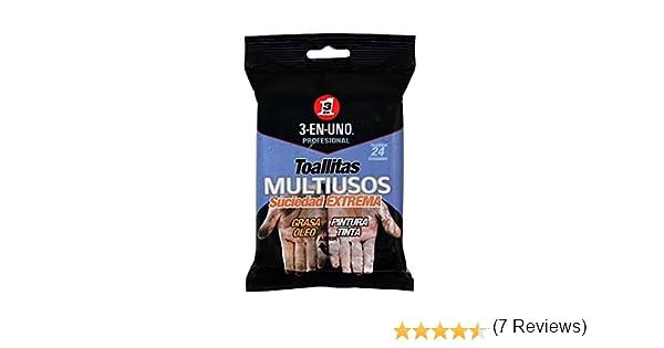 3 EN UNO Profesional 34374 - Pack de 24 toallitas multiusos: Amazon.es: Industria, empresas y ciencia