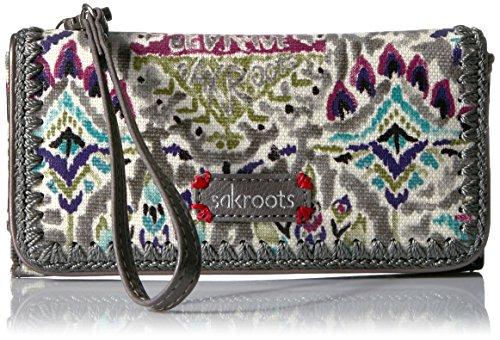 sakroots-artist-circle-tech-wallet-crossbody-slate-brave-beauti