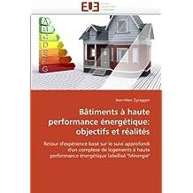 BATIMENTS A HAUTE PERFORMANCE ENERGETIQUE  OB