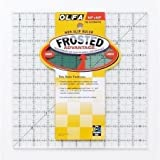 """Olfa Frosted Ruler The Alternative 9 1/2"""" X9 1/2"""" QR9S"""
