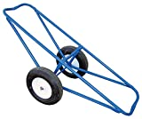 Vestil CARPET-45-FF Portable Carpet Dolly with Foam-Filled Wheels, 500 lbs Capacity, 60'' Length x 26'' Width x 20'' Height, Platform Width (in.) 14-11/16.
