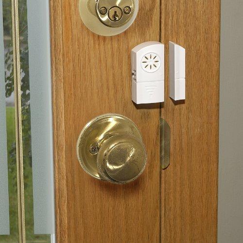 Rishon Enterprises Inc /Set de 2 inal/ámbrico para puerta y ventana alarma con timbre/