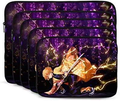 Demon Slayer 17 inch Laptop Sleeve Case Protective Zipper Cover Carrying Computer Bag