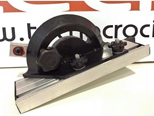 llano de trabajo de aluminio inclinable de 0//° a 45//° Sierra de cinta Vertical Marco Tubular Soldado Velocidad hoja 660//960/M//min Profundidad de corte 245/mm Longitud hoja ancho Cuchillas utilizzabili de 6/a 13/mm