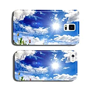 Invitation to relax: colorful flower meadow :) cell phone cover case Samsung S5