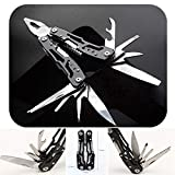 Multitool Plier with Sheath Sidekick Pocket Size Tactical Suspension Plier with Knife