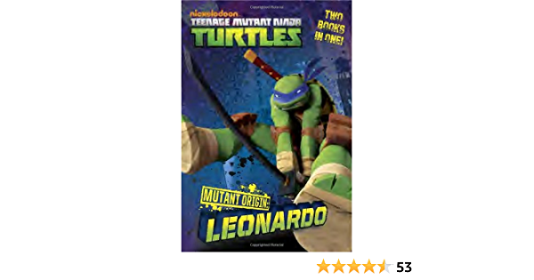 Amazon Com Mutant Origin Leonardo Donatello Teenage Mutant Ninja Turtles 9780449809938 Teitelbaum Michael Random House Books