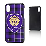 Keyscaper Orlando City Soccer Club Plaid iPhone X Slim Case MLS
