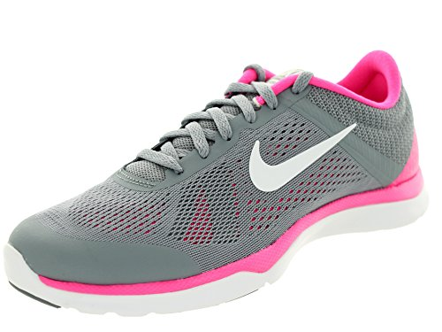 NIKE Women's in-Season Tr 5 Stealth/White/Pink Pow/Cl Grey Training Shoe 8 Women US