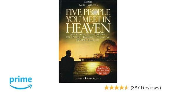 Amazon com: The Five People You Meet in Heaven: Jon Voight