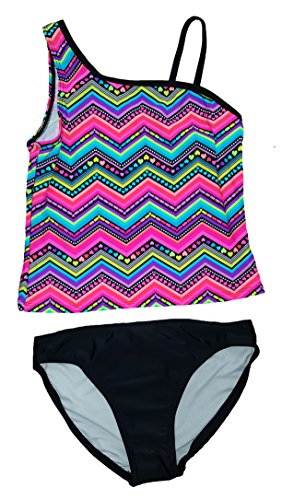 ocean-pacific-girls-love-slant-2-piece-tankini-medium