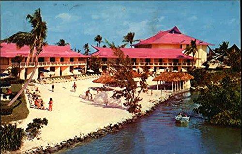 (The Castaways Fairyland Island Beach Miami Beach, Florida Original Vintage Postcard)