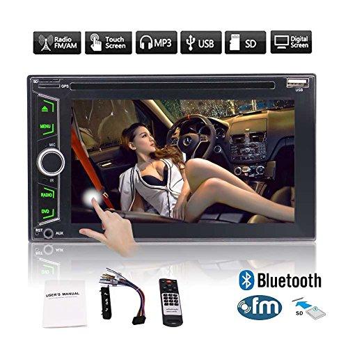 EINCAR WIN8 Car Stereo CD DVD Player 6.2 Inch Double: Amazon.co.uk: Electronics