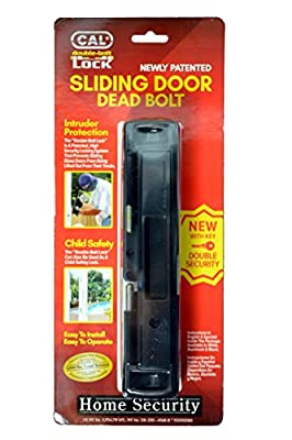 Double Bolt Lock for Glass Sliding Doors - Advanced Technology to Keep Your Family Safe and Secure - High Security Lock - Virtually Burglar Proof