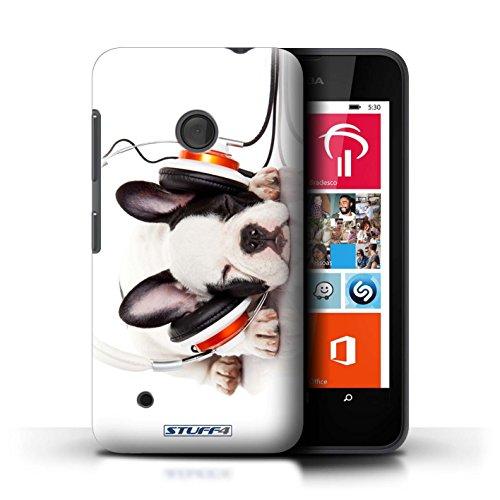Kobalt® Imprimé Etui / Coque pour Nokia Lumia 530 / Chien somnolent conception / Série Animaux comiques