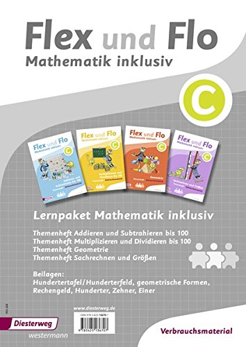 Flex und Flo - Mathematik inklusiv: Mathematik inklusiv Paket C Loseblattsammlung – 1. Oktober 2018 Diesterweg Moritz 3425136704 Schulbücher Baden-Württemberg