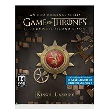 Game of Thrones: Season 2 (Steelbook) [Blu-ray] + Digital HD (2015)