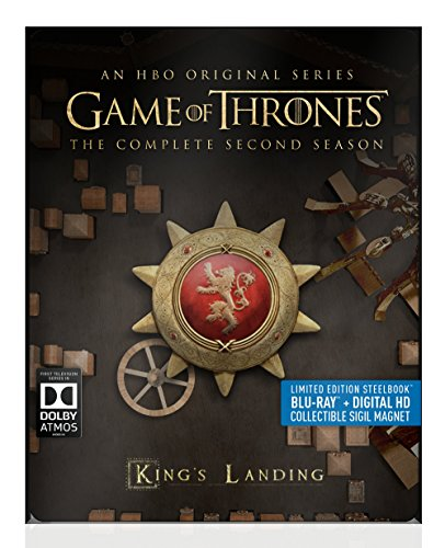 Blu-ray : Game of Thrones: The Complete Second Season (Full Frame, Steelbook, , 5 Disc)
