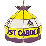 NCAA East Carolina 16-Inch Stained Glass Tiffany Lamp