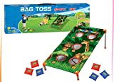 Adorox Bean Bag Toss Game Set Animal Zoo Jungle Theme Parties