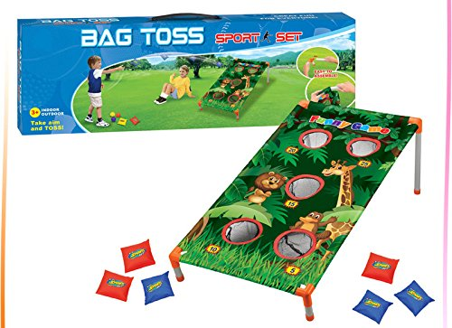 - Adorox Bean Bag Toss Game Set Animal Zoo Jungle Theme Parties