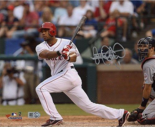 Elvis Andrus Texas Rangers Autographed 8