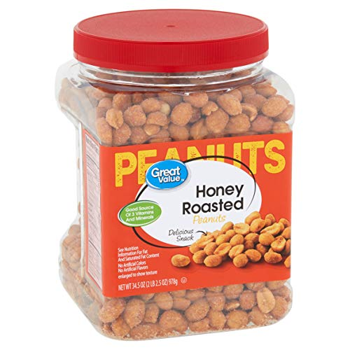 Thing need consider when find peanuts dry roasted unsalted great value?