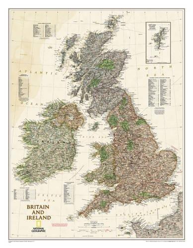 Großbritannien & Irland Executive, laminiert: NATIONAL GEOGRAPHIC Länder & Regionen (National Geographic Reference Map)