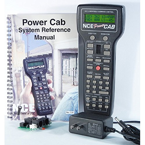 NCE Power Cab DCC Starter Set NCE5240025 from NCE