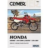 Clymer Repair Manual for Honda XR600R 91-00 XR650L 93-07