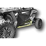 Polaris RZR 900 Trail, 900S, 1000S, XP1000, Turbo, Nerf Bars Rock Sliders - Lime Squeeze Yellow Color