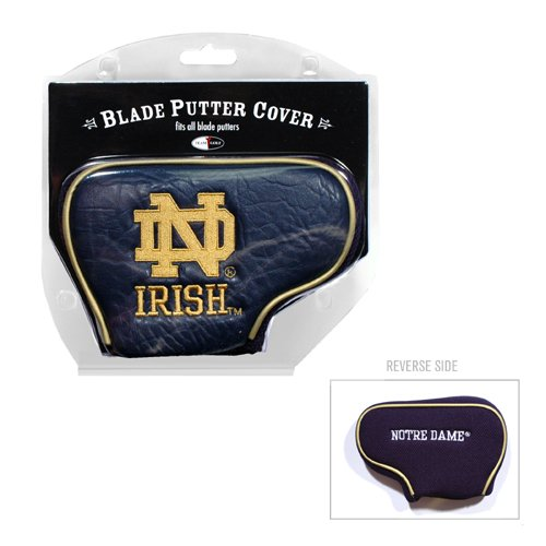 Team Golf NCAA Notre Dame Fighting Irish Golf Club Blade Putter Headcover, Fits Most Blade Putters, Scotty Cameron, Taylormade, Odyssey, Titleist, Ping, Callaway