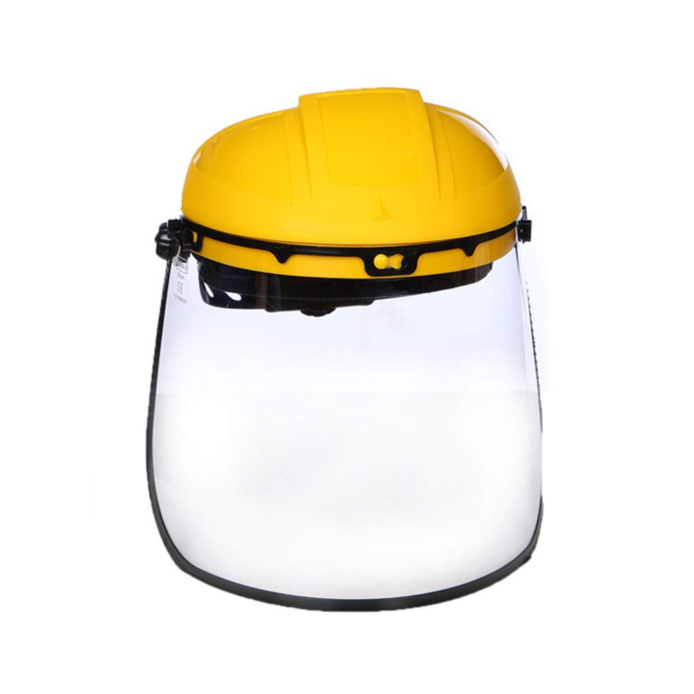 LKSDD Electric Welding Mask,to Prevent Chemical Splash Half-Helmet Head Wearing Protective Screen, Easy to Wear Wide Vision, Flip Screen, All-Round Protection by LKSDD