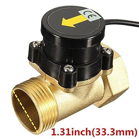 DyNamic G1-1 Kupfer 1.6A 1 inch 32mm Wasserpumpe Str/ömungsschalter Hochtemperaturschalter