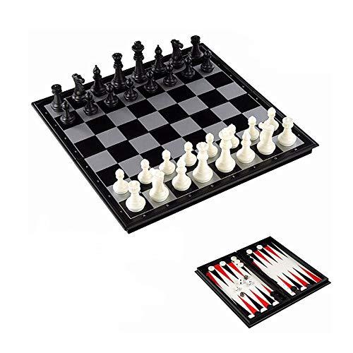 yinyinpu Ajedrez para Ni?Os Tableros De Ajedrez Juego de ajedrez para niños Juegos de ajedrez para niños Ajedrez Regalo…