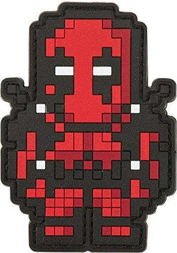 Evike - Aprilla Design PVC IFF Hook & Loop Patch - 8-Bit Deadpool ()