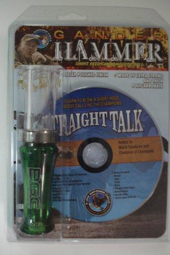 Gander Hammer Camo & Clear Goose Call + CD | GH-CD-CA/C