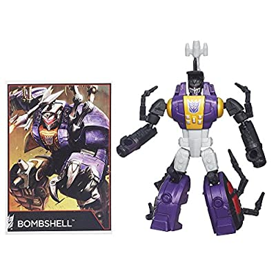 Transformers Generations Legends Class Insecticon Bombshell Figure: Toys & Games