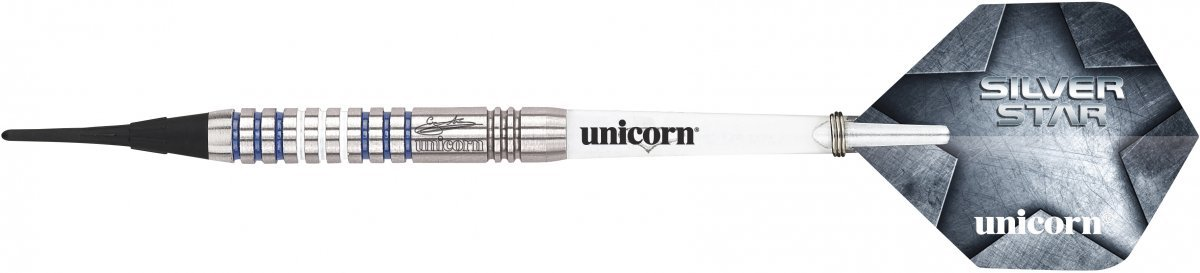 Hombre Unicorn Star Gary Anderson Soft Tip Dardos