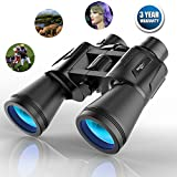 Binocular 10X50 Professional High Power Wide Angle Binoculars Blue Film Lens Continuous Zoom Super Clear And Sharp View Manual Focus with Telescope SouthStarDigital
