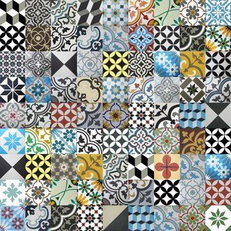 Amazon.com: Encaustic cement tile made in Vietnam by CTS factory ...
