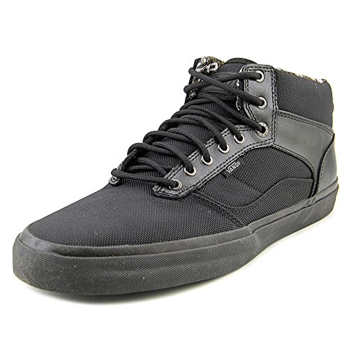 1ae9201dbead2 80%OFF Vans Bedford Tiger Clash Black/Black Mid Top Sneakers Mens ...