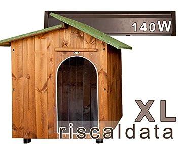 Caseta para amor – Caseta riscaldata de madera – Extra Large (80 x 110 cm