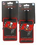 Tampa Bay Buccaneers - NFL Soft Luggage Bag Tag - Set of 2