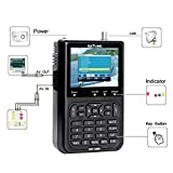 Satellite Signal Detector, KKmoon SATLINK WS6906 3.5in LCD Display Data Digital Satellite Signal Finder Meter