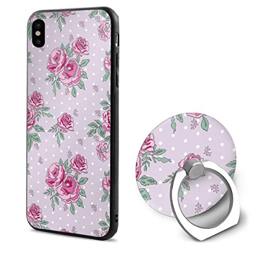 Rose Bouquet in Spring iPhone X Case iPhone 10 Case Scratch Proof Suitable 5.8 Inches ()