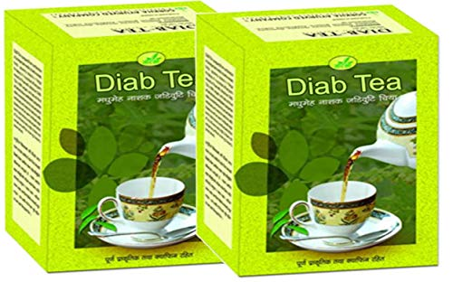 Gorkha Diab (Diabetic) Herbal Tea - Most of The Himalayan Herbs Have Antibiotic Properties Which Excrete The Toxicity Accumulated in The Body Naturally, Good for Diabetic Patients (2 Bulk Pack) ()