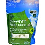 SEV22818CT - Natural Dishwasher Detergent Concentrated Packs
