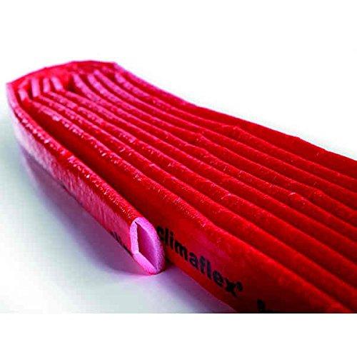 """Isolante per il riscaldamento e limpianto idraulico, 28 x 4 mm /® Guaina di protezione /""""Lund/"""", 10 metri"""