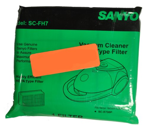Sanyo Model SC7009 Canister Vacuum Cleaner Filter - Sanyo Cannister
